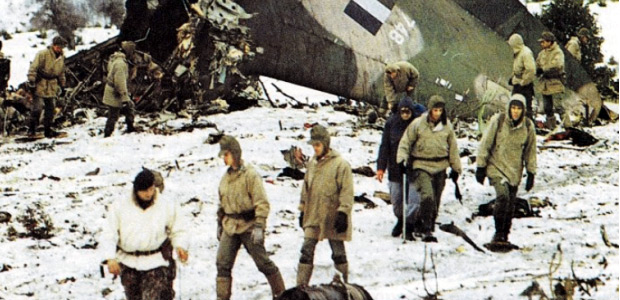 Γρηγόρης Καρταπάνης: Η συντριβή του C-130 στην  Όθρυ