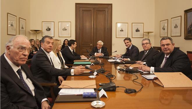 Αποχώρησε ο Κουτσούμπας από το Συμβούλιο Πολιτικών Αρχηγών - αναμένεται ανακοινωθέν
