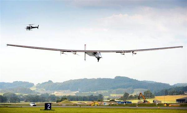 Δοκιμαστική πτήση για το Solar Impulse 2