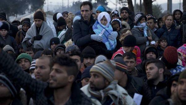 Αγωνιστές από χώρες της Ευρώπης για το προσφυγικό