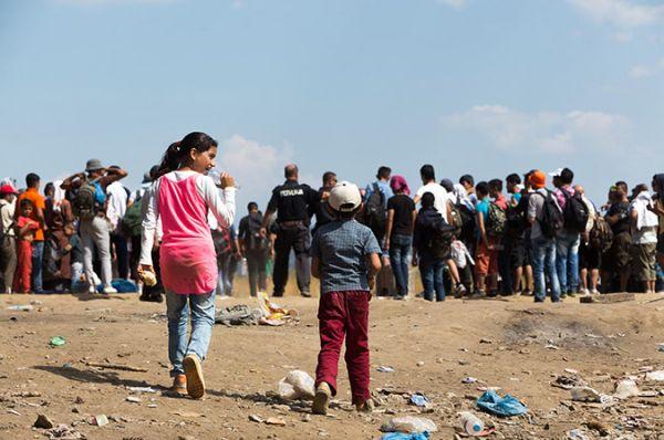 Ολη η βοήθεια για τους πρόσφυγες στο Διοικητήριο