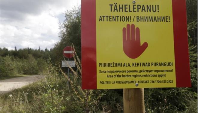 Και φράχτες στη Βαλτική στήνουν τώρα για τους πρόσφυγες