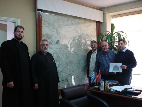 Επίσκεψη Σέρβικης Αντιπροσωπίας στο Δήμο Ρήγα Φεραίου