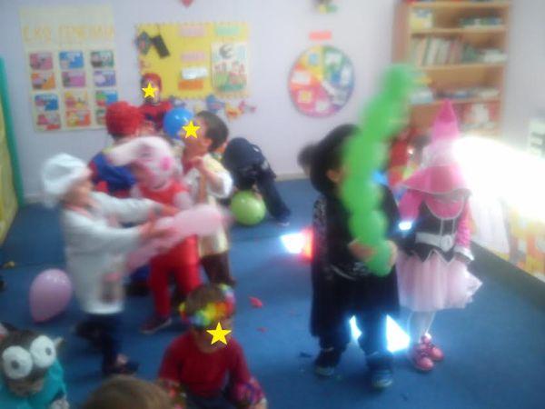 Αποκριάτικο πάρτι του Αρχιμανδρίτειου Παιδικού Σταθμού