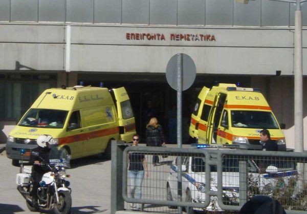 Τρίκαλα: Στο Νοσοκομείο με εγκαύματα βρέφος 14μηνών