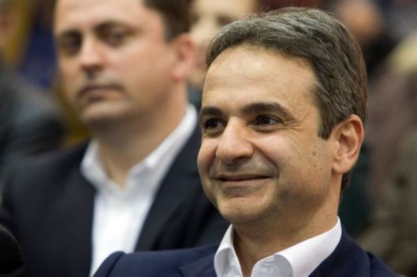 Στις Βρυξέλλες για τη σύνοδο του ΕΛΚ ο Κυριάκος Μητσοτάκης