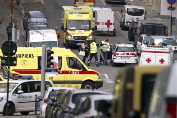 Η ΕΛ.ΑΣ συνδέει τις επιθέσεις στις Βρυξέλλες με αυτές στο Παρίσι