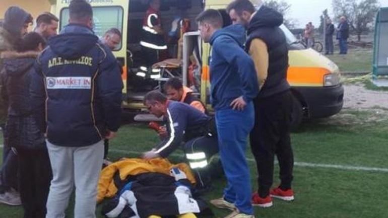 Φθιώτιδα: Οπαδός μπήκε στο γήπεδο και χτύπησε ποδοσφαιριστή