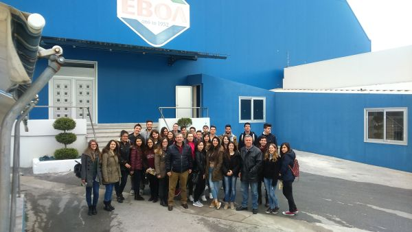 Μαθητές επισκέφτηκαν τη γαλακτοβιομηχανία ΕΒΟΛ