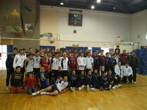 Ολοκληρώθηκε με επιτυχία το final 4 volley παίδων του Βόλου
