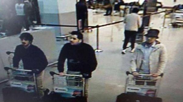 Βίντεο δείχνει τις κινήσεις των τζιχαντιστών στο αεροδρόμιο των Βρυξελλών