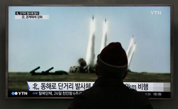 Νέα εκτόξευση πυραύλου μικρού βεληνεκούς από τη Βόρειο Κορέα