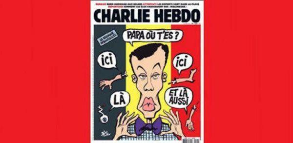 Σοκάρει το πρωτοσέλιδο του Charlie Hebdo μετά τις επιθέσεις στις Βρυξέλλες