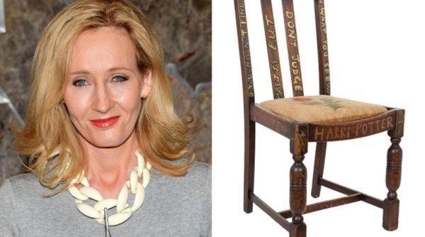 Σε δημοπρασία «η καρέκλα του Χάρι Πότερ»