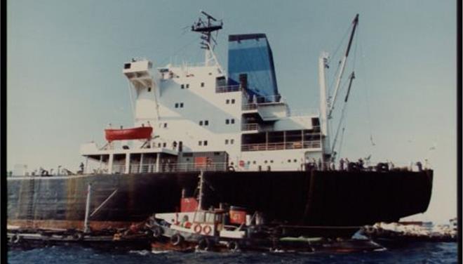 Ακυβέρνητο δεξαμενόπλοιο δυτικά των Φλεβών λόγω μηχανικής βλάβης