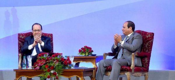 Υπογραφή συμφωνιών 2 δισ. από Γαλλία - Αίγυπτο