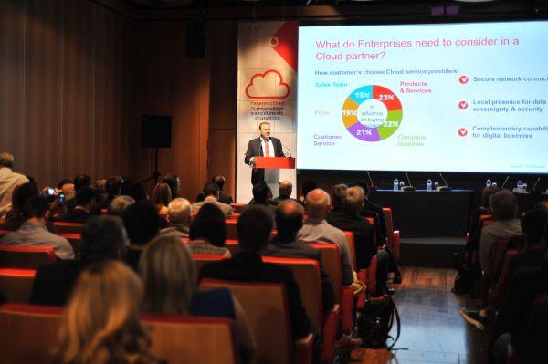 Μείωση του κόστους & μεγαλύτερη ευελιξία με τις υπηρεσίες Vodafone Business Cloud