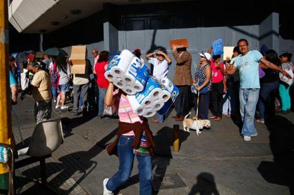 Ταραχές στη Βενεζουέλα λόγω περικοπών και ελλείψεων σε βασικά αγαθά
