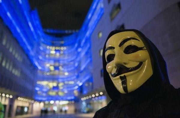 «Επίθεση» των Anonymous στην Τράπεζα της Ελλάδος
