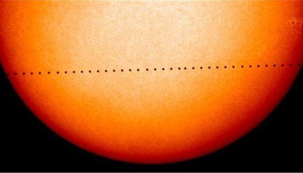 Σπάνια διάβαση σήμερα του Ερμή μπροστά από τον Ηλιο θα είναι ορατή και από την Ελλάδα
