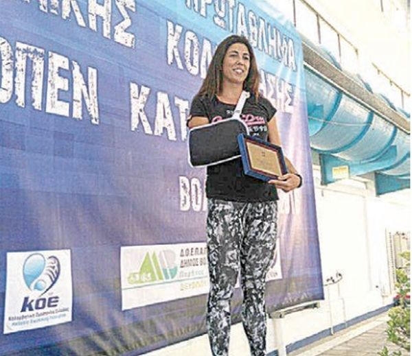 Νέο ρεκόρ Ευρώπης για τη Σοφία Κτενά στους αγώνες τεχνικής κολύμβησης του Βόλου