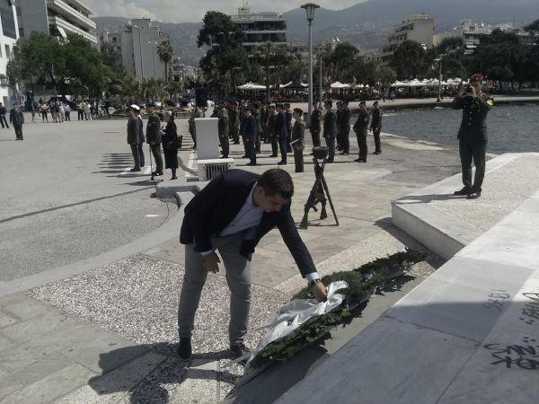 Τιμήθηκε η ημέρα λήξης του Β' παγκοσμίου πολέμου