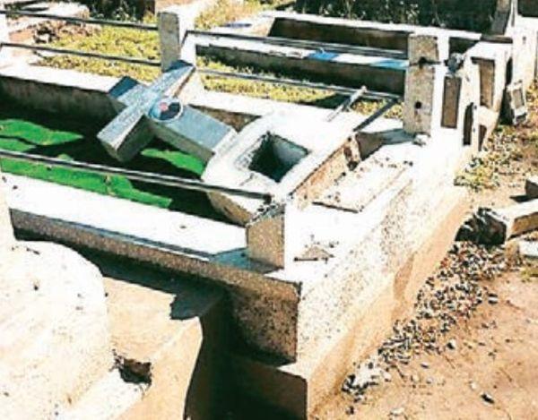 Βεβήλωσαν τάφους στον «Κούκο»