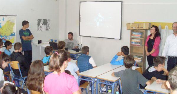 Παρουσίαση των Καινοτόμων Δράσεων στο Γυμνάσιο-Λύκειο Σούρπης