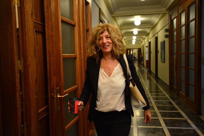 Προσφυγή στη Δικαιοσύνη κατά δημοσιεύματος προαναγγέλλει η Σία Αναγνωστοπούλου