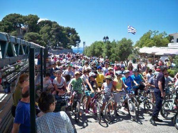 Πραγματοποιήθηκε ο 6ος ποδηλατικός γύρος της Σκιάθου