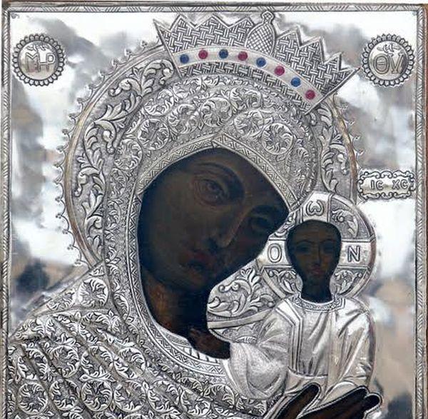 Η Εικόνα της Παναγίας Κοσμοσώτειρας Εβρου στην Ανάληψη