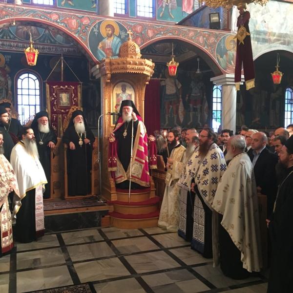 «Να μη χάσουμε την ταυτότητά μας», δήλωσε από το Βελεστίνο ο Αρχιεπίσκοπος