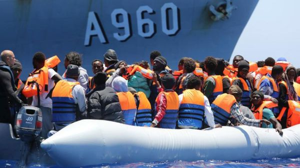 Περίπου 550 μετανάστες συνελήφθησαν ανοιχτά των λιβυκών ακτών