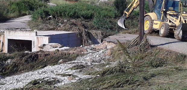 Σοβαρές ζημιές στο δήμο Ρήγα Φεραίου
