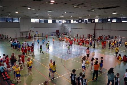 Σχολικοί αγώνες βόλεϊ από το δήμο Βόλου