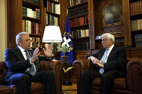 Παυλόπουλος: Η συνοχή της ΕΕ εξαρτάται από το προσφυγικό