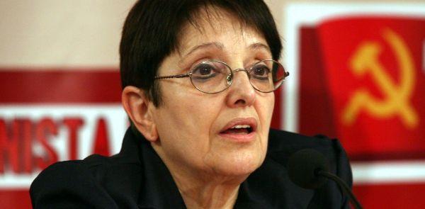 Η Αλέκα Παπαρήγα στο Τρίκερι
