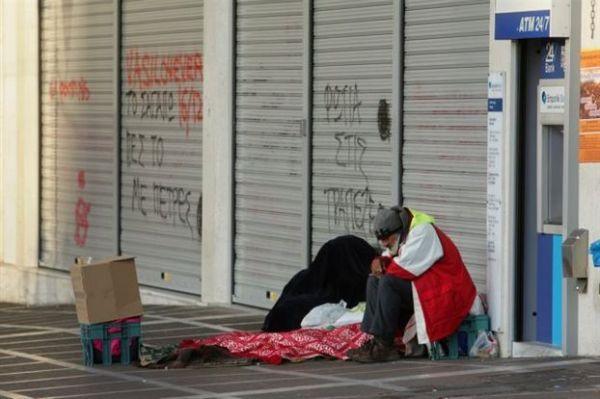 Εκτινάχθηκε ο αριθμός των αστέγων τα τελευταία χρόνια