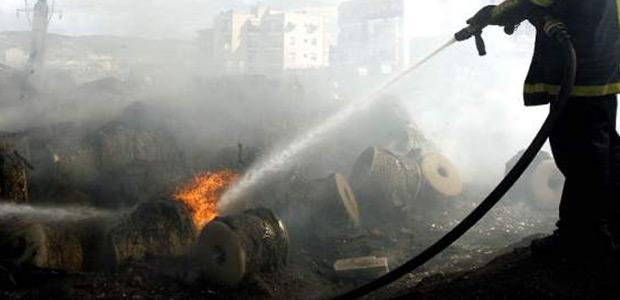 Απανθρακώθηκε οδηγός νταλίκας ~ Φορτηγό ντελαπάρισε και τυλίχτηκε στις φλόγες