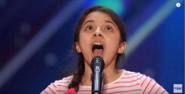 Νέα εμφάνιση της 13χρονης «Κάλλας» - συγκλονισμένοι όλοι με τη φωνή της