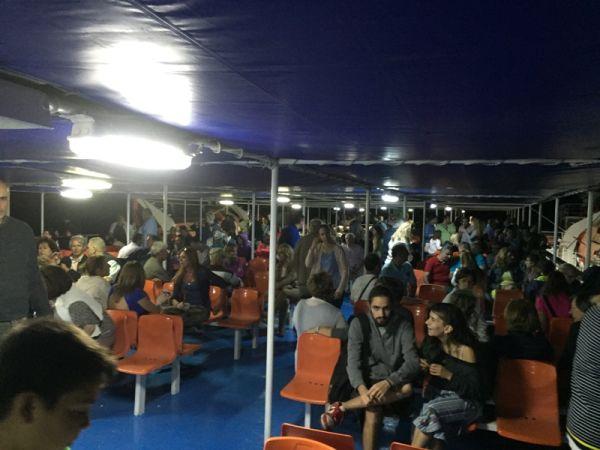 Βραδινή κρουαζιέρα για 1.500 Βολιώτες (φωτο)