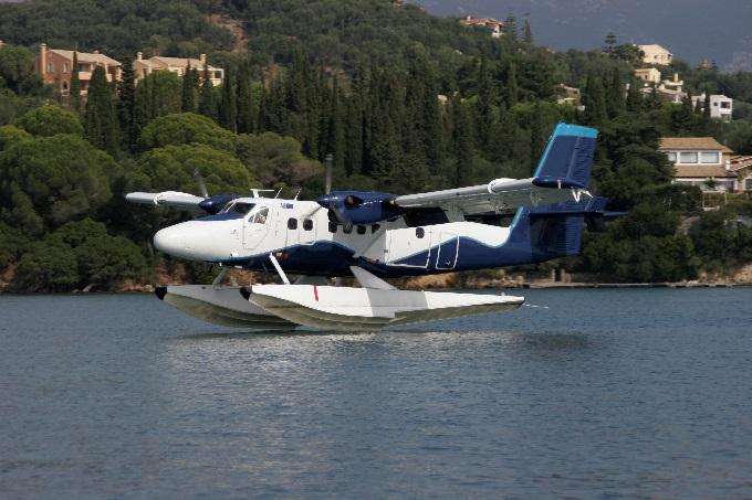 Εναρμονισμένη η Hellenic - Seaplanes με τα νέα πρότυπα ασφαλείας