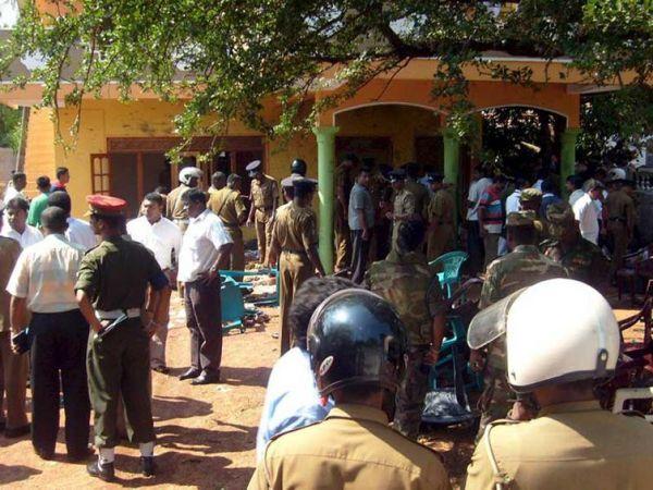 Σρι Λάνκα: Ένας νεκρός και 47 τραυματίες από φωτιά σε στρατόπεδο