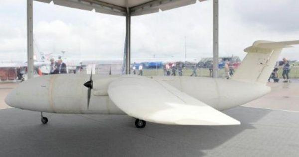 Airbus: Το πρώτο μίνι-αεροπλάνο που βγήκε από τρισδιάστατο εκτυπωτή