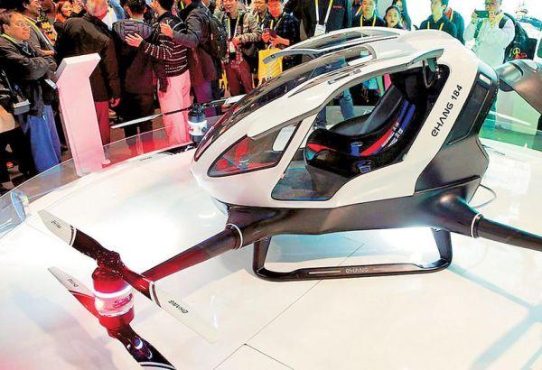Δοκιμαστική πτήση στη Νεβάδα του πρώτου taxi drone