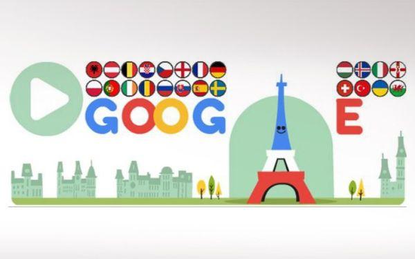 Euro 2016 στο doodle της Google