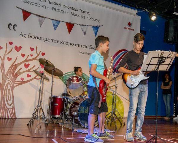Για 10η χρονιά το Φεστιβάλ Τέχνης από τα Παιδικά Χωριά SOS με την υποστήριξη της Vodafone