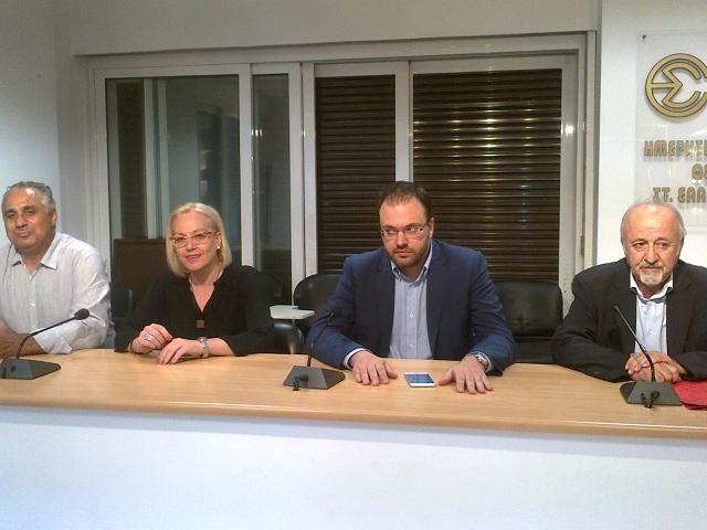 Θεοχαρόπουλος: Χρειάζεται σχέδιο για έξοδο από την κρίση