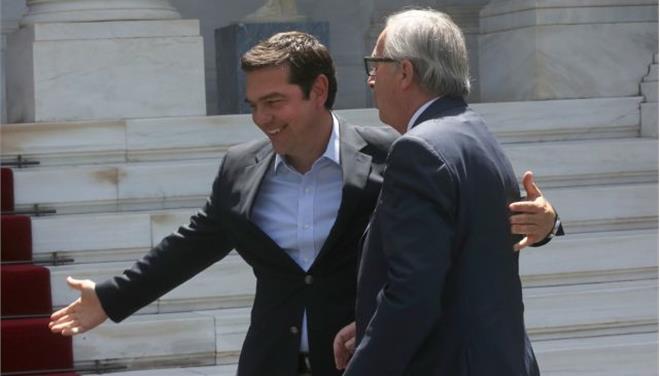 Γιούνκερ: Η Ελλάδα βρίσκεται πλέον στον σωστό δρόμο