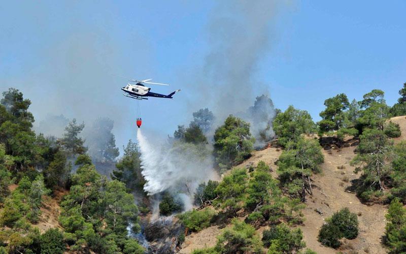 Δύο νεκροί και τρεις τραυματίες απο την πύρινη λαίλαπα στην Κύπρο
